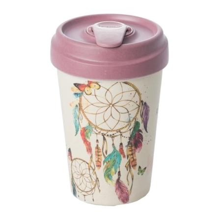 VASO TERMO DE BAMBÚ 400 ML DREAMCATCHER