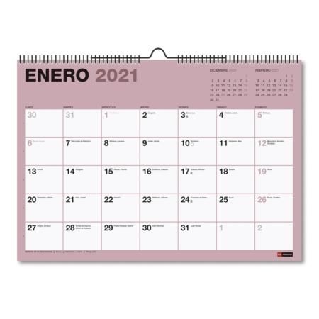 CALENDARIO DE PARED A3 CON ESPACIO PARA ESCRIBIR CHROMAT 2021 MIQUELRIUS