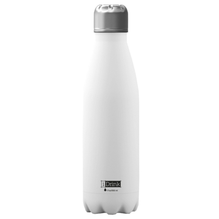 BOTELLA TÉRMICA I-TOTAL 500 ML BLANCO