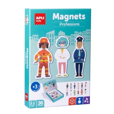 JUEGO MAGNÉTICO PROFESIONES 36 PIEZAS