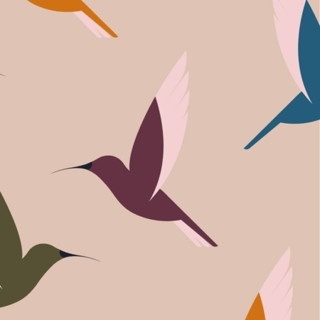 PAQUETE DE 20 SERVILLETAS DE BAMBÚ HUMMINGBIRDS