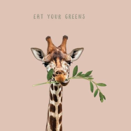 PAQUETE DE 20 SERVILLETAS DE BAMBÚ EAT YOUR GREENS