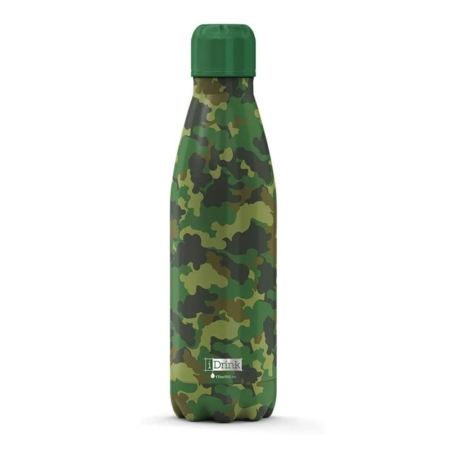 BOTELLA TÉRMICA I-TOTAL 500 ML CAMUFLAJE