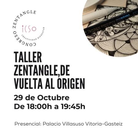 """CURSO PRESENCIAL ZENTANGLE """"VUELTA A LOS ORÍGENES"""" - 29 DE OCTUBRE - 18:30 A 20:00"""