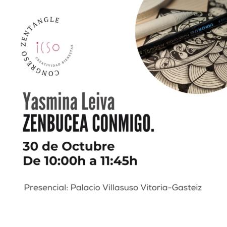 CURSO PRESENCIAL ZENTANGLE CON YASMINA LEIVA - 30 DE OCTUBRE - 10:00 A 11:45