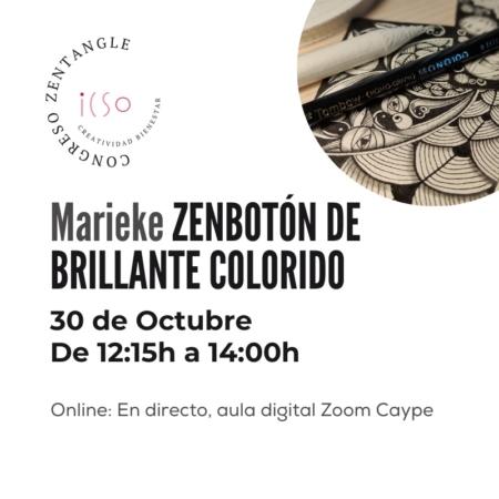 CURSO ONLINE ZENTANGLE CON MARIEKE SÁNCHEZ - 30 DE OCTUBRE - 12:15 A 14:00