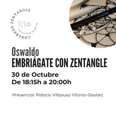 CURSO PRESENCIAL ZENTANGLE CON OLSWALDO BURBANO - 30 DE OCTUBRE - 18:15 A 20:00