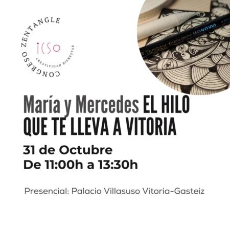 CURSO PRESENCIAL ZENTANGLE CON MARÍA TOVAR, MERCEDES PÉREZ CRESPO Y MARTINA RAMHAPP - 31 DE OCTUBRE - 11:00 A 13:30