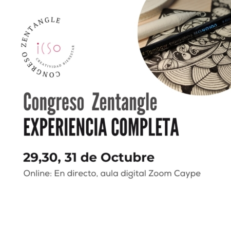 EXPERIENCIA COMPLETA CONGRESO DE ZENTANGLE ONLINE