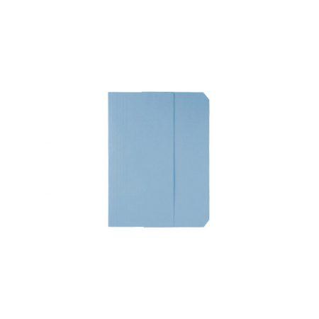 Pack de 50 subcarpetas DIN A4 con 3 solapas azul