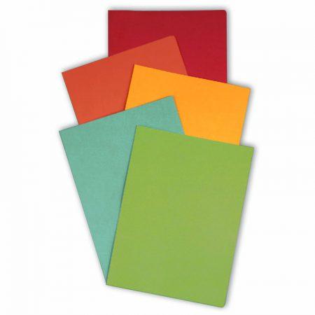 Pack de 50 subcarpetas recicladas DIN A4 azul
