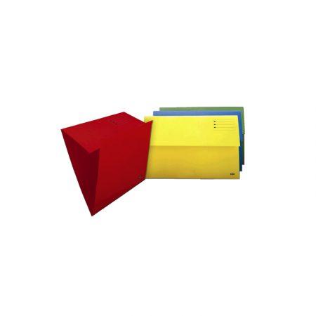 Pack de 50 subcarpetas Gio de 1 solapa A4 azul