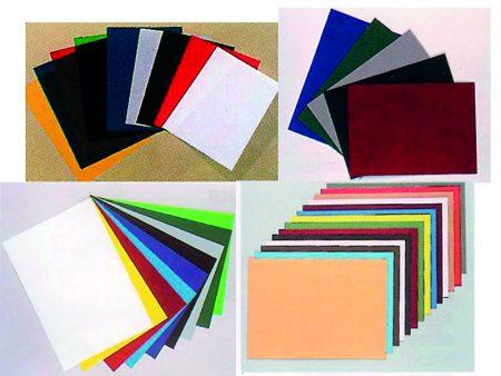 Paquete de 100 tapas de encuadernar de PVC opaco A4 de 180 μ