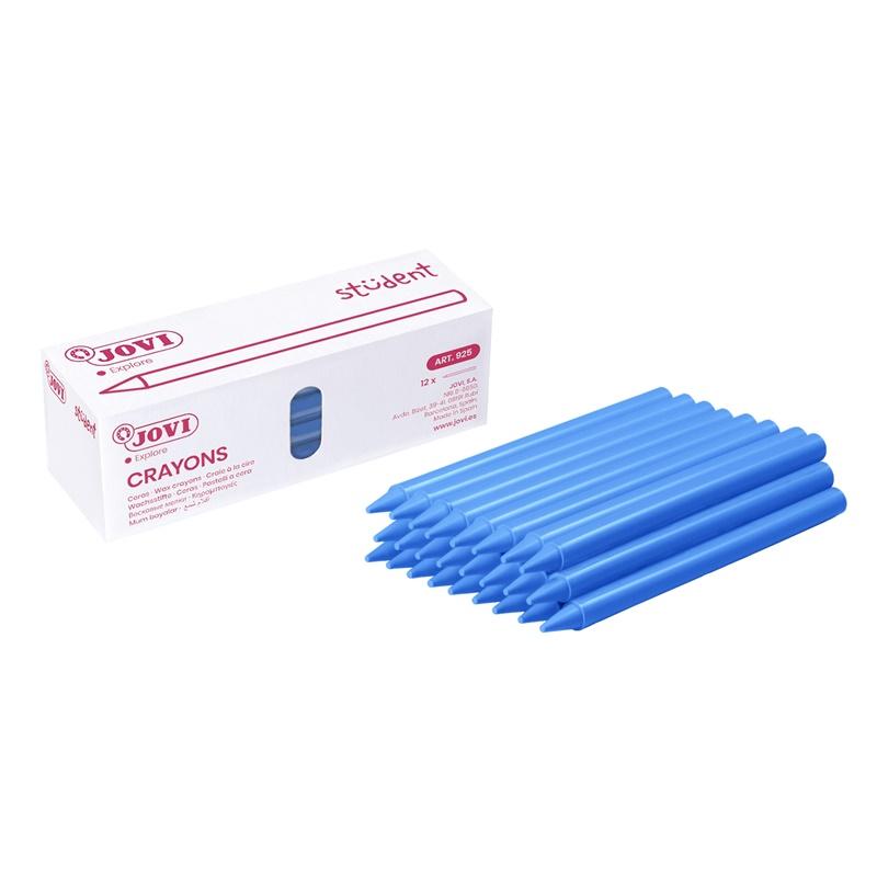 Caja de 25 ceras Jovi Plasticolor Unicolor