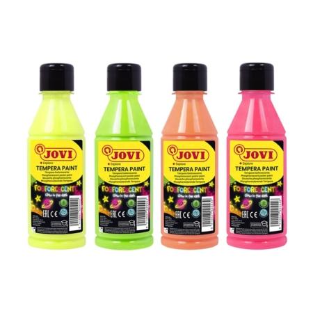Témpera fosforescente Jovi 250 ml