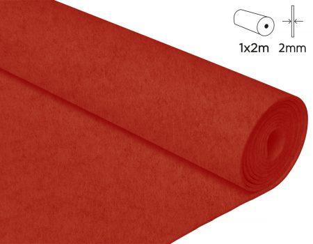 Rollo de fieltro acrílico de 100x200 cm de 2 mm de grosor